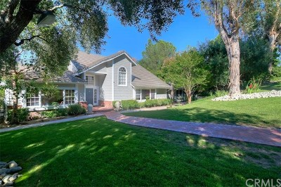 North Tustin Single Family Home For Sale: 9821 Brentwood Drive