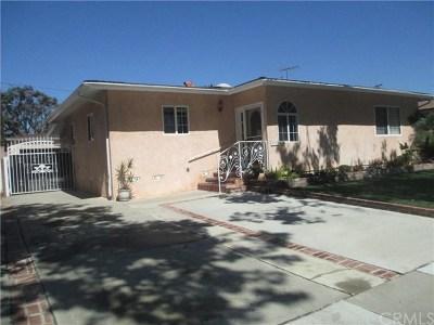Long Beach Single Family Home For Sale: 2719 N Studebaker Road