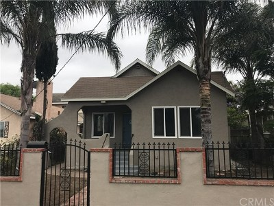 San Pedro Single Family Home For Sale: 663 W Sepulveda Street