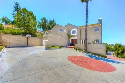 Fullerton Single Family Home For Sale: 1413 Vista Del Mar Drive
