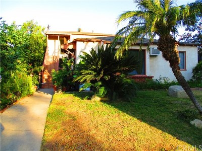 North Hollywood Multi Family Home For Sale: 5533 Cartwright Avenue