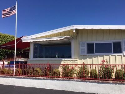 Newport Beach Mobile Home For Sale: 13 Saratoga