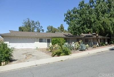 Riverside Single Family Home For Sale: 4256 Quail Road
