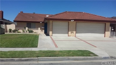 Fountain Valley Single Family Home For Sale: 15977 Mount Jackson Street