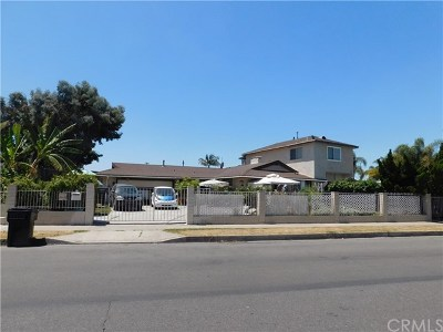 Anaheim Single Family Home For Sale: 1343 N Minot Street