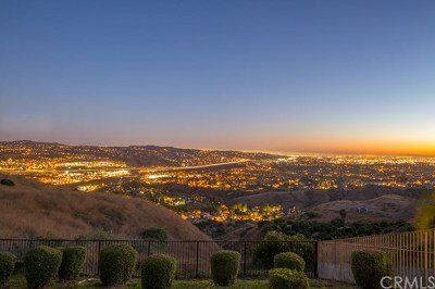 Yorba Linda Single Family Home Active Under Contract: 4785 Sky Ridge Drive