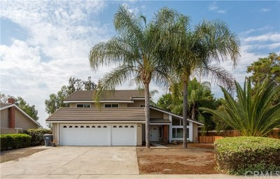 Chino Single Family Home Active Under Contract: 3527 Wagon Wheel Court