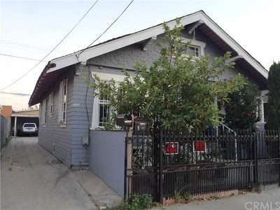 Los Angeles Multi Family Home For Sale: 318 E Gage Avenue