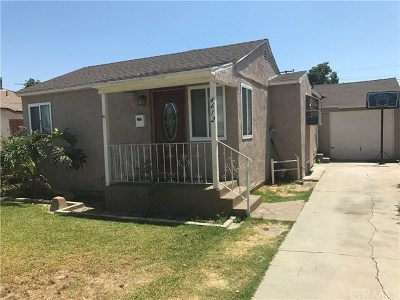 Lynwood Single Family Home For Sale: 4612 Arlington Avenue
