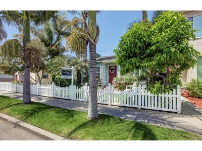 Long Beach Single Family Home For Sale: 217 Granada
