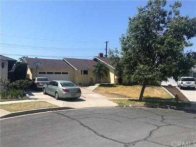 Yorba Linda Single Family Home Active Under Contract: 16612 El Cajon Avenue