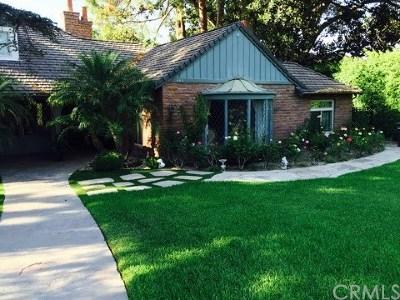 Orange Single Family Home For Sale: 404 S Estate Drive
