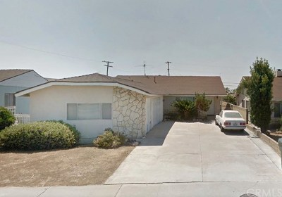 Whittier Single Family Home For Sale: 14430 Leffingwell Road