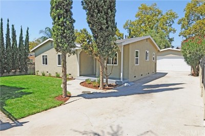 Pomona Single Family Home For Sale: 2131 Ramsey Way