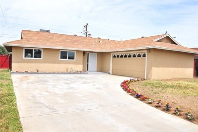 Moreno Valley CA Single Family Home For Sale: $309,000