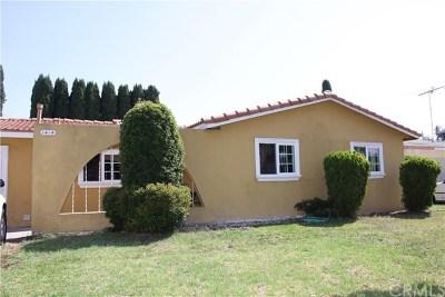 Santa Ana Single Family Home For Sale: 1414 W Carlton Place