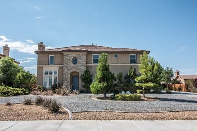 Apple Valley Single Family Home For Sale: 19151 La Quinta Place