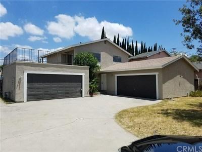 Pomona Multi Family Home Active Under Contract: 1141 W 6th Street