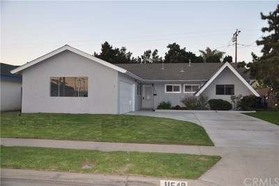 Fountain Valley Single Family Home For Sale: 11549 Rosemary Avenue