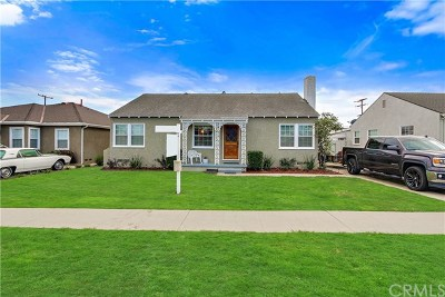 Long Beach Single Family Home For Sale: 4316 E Rosada Street