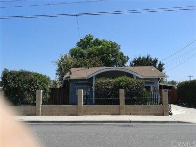 La Habra Single Family Home For Sale: 200 Hillcrest Street