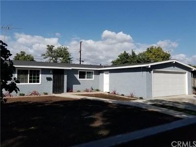 Santa Ana Single Family Home For Sale: 713 E Pomona Street