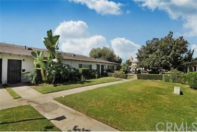 Santa Ana Condo/Townhouse For Sale: 615 S Euclid Street #O2