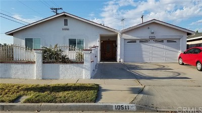 Garden Grove Single Family Home For Sale: 10511 W Barbette Avenue