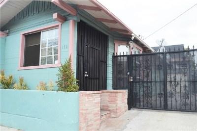 Long Beach Single Family Home For Sale: 1531 E Broadway