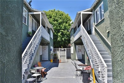 Long Beach Multi Family Home For Sale: 2133 Pacific Avenue
