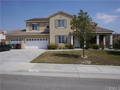 Moreno Valley Single Family Home For Sale: 13788 Peyton Drive