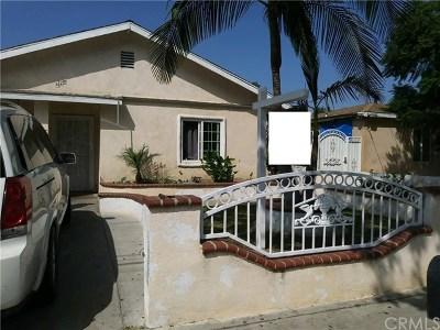 Santa Ana Single Family Home For Sale: 626 N Jackson Street