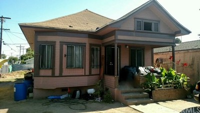 Los Angeles Single Family Home For Sale: 2136 E 113th Street