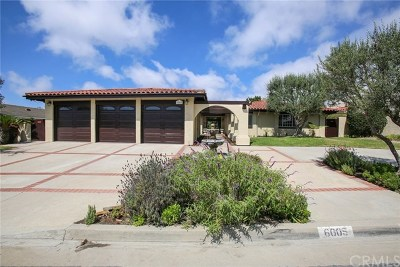 Rancho Palos Verdes CA Single Family Home For Sale: $2,888,000