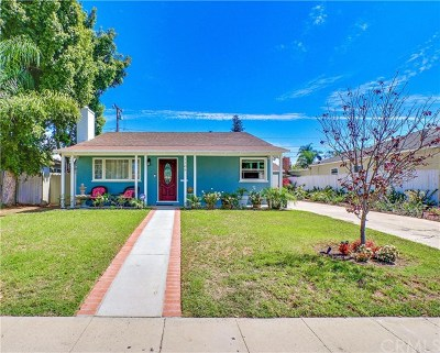 Santa Ana Single Family Home For Sale: 1509 N Baker Street