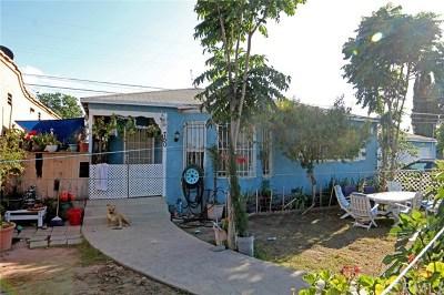 Los Angeles Multi Family Home For Sale: 752 E Lanzit Avenue