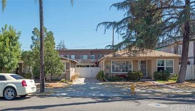 Anaheim Multi Family Home For Sale: 832 N Lemon Street