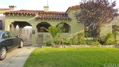Los Angeles Single Family Home For Sale: 1234 81st Street