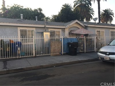 Los Angeles Single Family Home For Sale: 426 W 81st Street