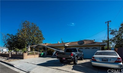 Garden Grove Single Family Home For Sale: 11641 Steele Drive
