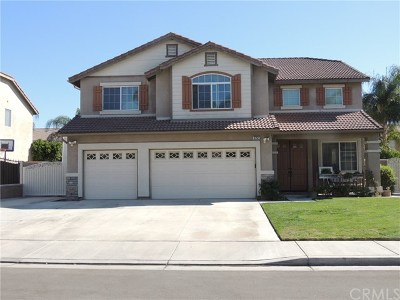 Eastvale Single Family Home For Sale: 6752 Angus Street