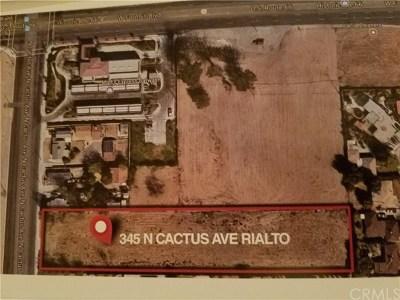 San Bernardino County Residential Lots & Land For Sale: 345 N Cactus Avenue