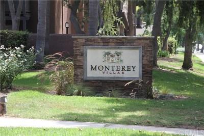 Santa Ana Condo/Townhouse For Sale: 1345 Cabrillo Park Drive #S12