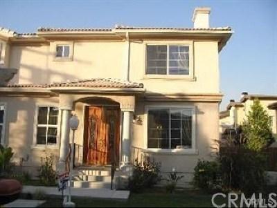 San Gabriel Condo/Townhouse For Sale: 1258 Elm Avenue