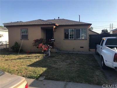 Compton Single Family Home For Sale: 206 W Johnson Street