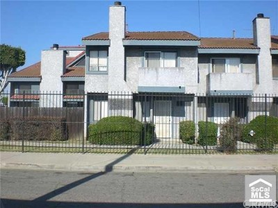 Compton Condo/Townhouse For Sale: 100 S Burris Avenue