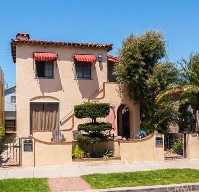 Long Beach Multi Family Home Active Under Contract: 233 Granada Avenue