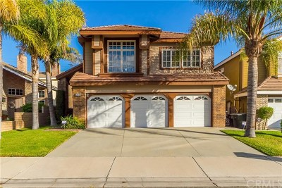 Chino Hills Single Family Home For Sale: 1646 Falling Star Lane