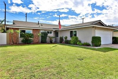 Garden Grove Single Family Home For Sale: 12836 Bailey Street