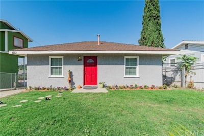 Chino Hills Single Family Home For Sale: 4138 Gird Avenue
